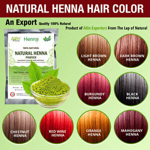 Organic henna hair dye color 60 grams for men and women 100 ...