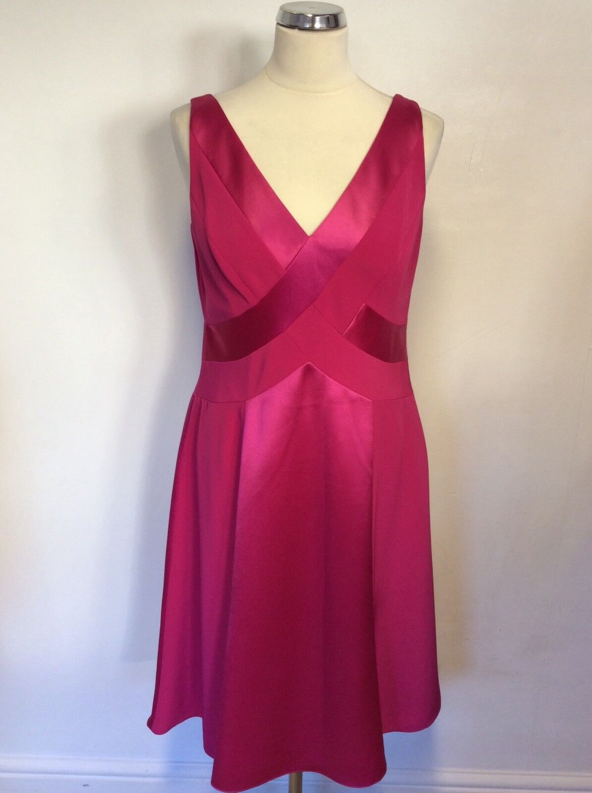 BNWT MARKS & SPENCER AUTOGRAPH PINK FIZZ SPECIAL OCCASION DRESS SIZE 12 COST