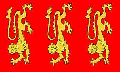 3/'x5/' King Richard I Flag UK British Royal Coat Of Arms Monarchy England New 3x5