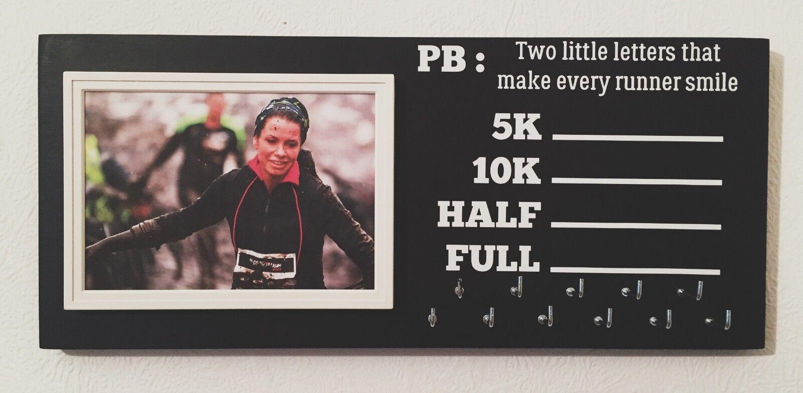 PB & Photo Running Runner Medal hanger holder