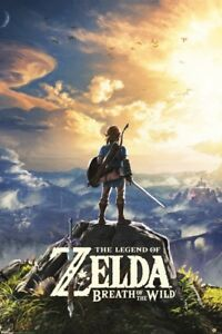 The-Legend-of-Zelda-Breath-of-The-Wild-Hyrule-Video-Gaming-Poster-24x36