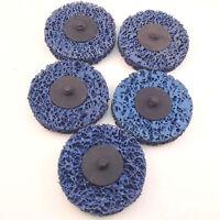 Roloc Style Paint Stripper t & r Type 3 Discs 5pc Set Blue