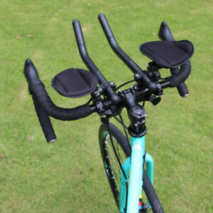 Bicycle-Arm-Rest-Handlebar-TT-Bar-Triathlon-Road-Bike-Frame-Mount-Aerobars