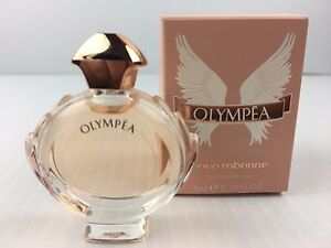 Olympea By Paco Rabanne For Women Mini Perfume 020 Oz New In Box