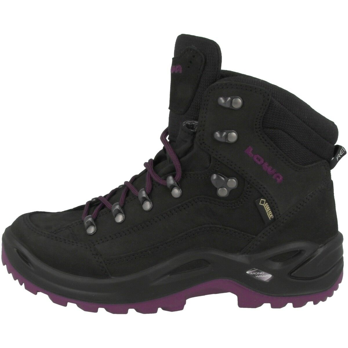 Lowa Renegade GTX Scarponcino Donne Gore-Tex Esterno Trekking shoes Nere