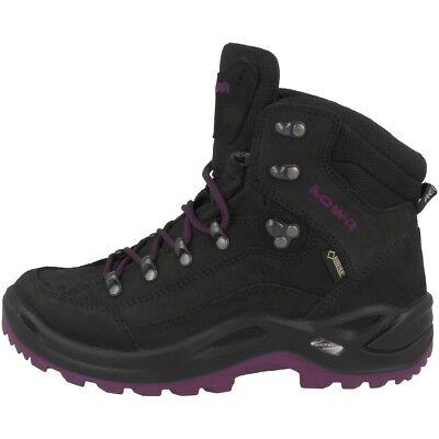 Lowa Renegade Gtx Mid Women Gore-tex Outdoor Hiking Scarpe Nere 320945-9957- Vari Stili