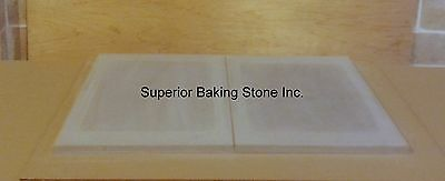 """961 OR 981 2 STONES EACH  30-3//8/""""x21/""""x1.5/"""" SET OF 2 NSF STONES FOR BLODGETT 951"""