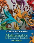 Mathematics for Elementary Teachers with Activities, Books a la Carte Edition Plus Mymathlab -- Access Card Package by Sybilla Beckmann (Mixed media product, 2013)