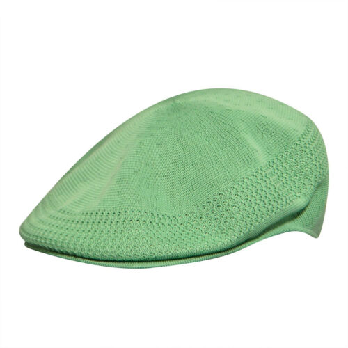 KANGOL Hat 504 Tropic Ventair Summer Flat Cap 0290BC Pistachio Sizes S XL