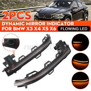 For-BMW-X3-F25-X4-F26-X5-F15-F16-Dynamic-Turn-Signal-Light-LED-Side-Mirror-Lamp