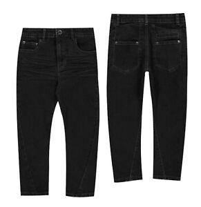Garcons-Firetrap-Slouch-Fit-Casual-elegant-Jeans-Tailles-Age-de-2-To-7-ans