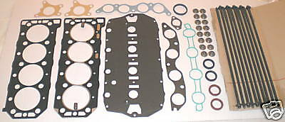 HEAD GASKET SET BOLTS ROVER K SERIES 25 45 75 16V 1.1 1.4 1.6 1.8 MLS UPRATED