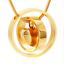 Urn Pendant Necklace Heart Capsule Vial Chain Keepsake Memorial Jewellery Ash