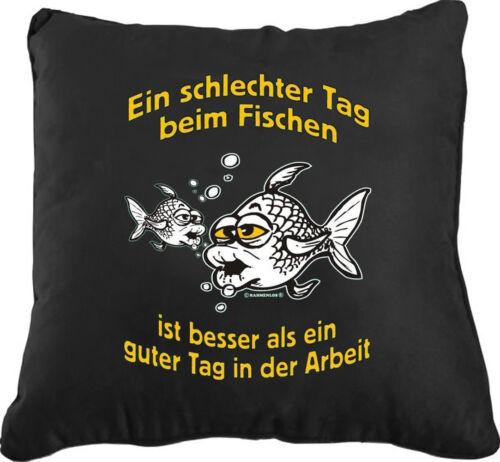 Sofa Kissen Couchkissen Kuschelkissen Angler Angeln Angelsport Angel fischen