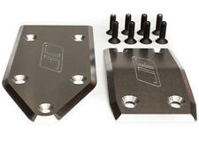 Losi 5IVE-T and MINI WRC skid plate set By Jofer USA RC, RAW Aluminum