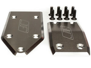 Losi 5IVE-T 5T and MINI WRC Aluminum skid plate set By Jofer USA RC RAW Aluminum