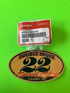 FLANGE 6X16 GENUINE Honda NOS 95701-06016-00 BOLT