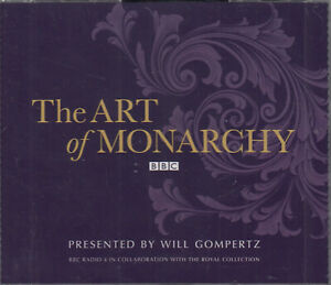 The-Art-of-Monarchy-Will-Gompertz-4CD-Audio-Book-NEW-BBC-Radio-4-FASTPOST