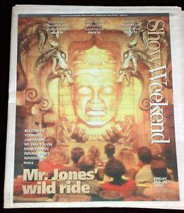 Disneyland Indiana Jones Adventure 1995 Orange County Register Newspaper Insert