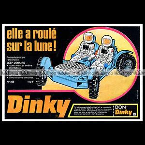 DINKY-TOYS-1972-LUNAR-ROVING-VEHICLE-APOLLO-355-Pub-Publicite-Ad-B400