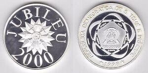 ST-TOME-PRINCIPE-THOMAS-SILVER-1000-DOBRAS-PROOF-COIN-1998-YEAR-MILLENNIUM-2000