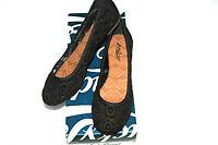 Lucky Brand Women's edmonda Ballet Flat Black Lace Size 7 1/2 M $69.00-nwt