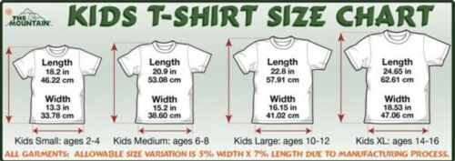 The Mountain Kid/'s Find 9 Sea Turtles T-Shirt Tee Blue Youth M-L-XL Made in USA.