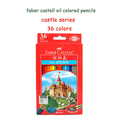 Faber Castell Oil Base 36/48/72 Color Pencil Set  Castle Series