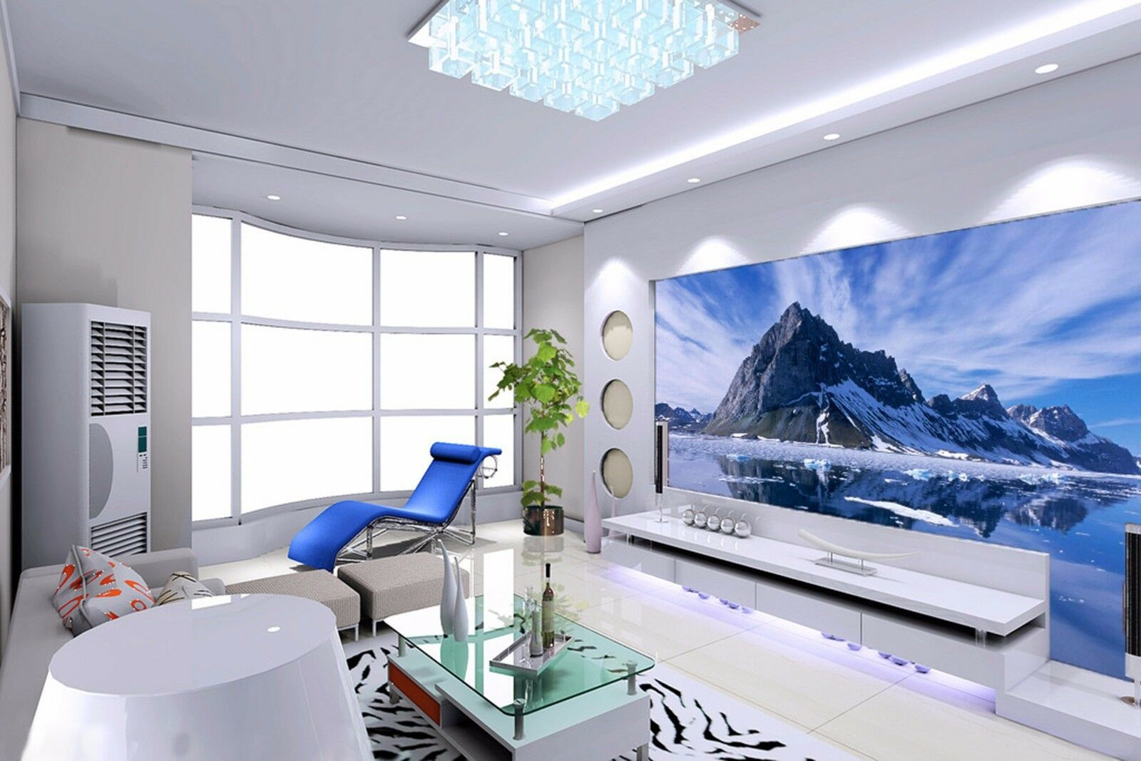 3D Mountain river 5836 Wall Paper Wall Print Decal Wall Indoor Murals Wall US