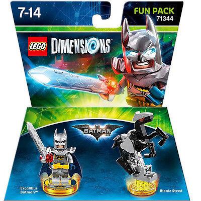 Lego Dimensions The Lego Batman Movie Excalibur Batman Fun Pack 71344 New