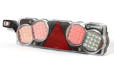 2 x  Rückleuchte LED LKW / Anhänger  24V LED Rückleuchten ( Satz ) WAS 350-352