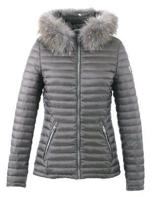 OAKWOOD Doudoune veste nylon femme JOLIE bleu pétrole 62909 coloris 634