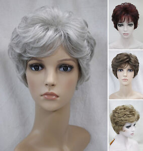 Charming-Short-Curly-Women-Ladies-Everyday-Natural-Daily-Life-hair-Wig-EF34