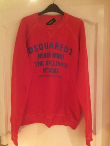 Maat Sweatshirt Vk Dsquared2 Heren Rood Xl w6q1nU