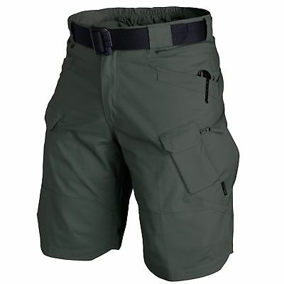 "Helikon Tex Urban Tactical Shorts 11"" Kurze Hose Utp Utl Ripstop Jungle Green"