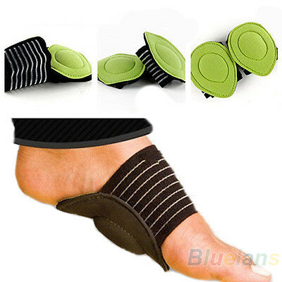 Unisex 1 Pair Relief Achy Pain Feet Cushioned Arch Support Protect Foot Healthy