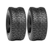(2) New 15x6.00-6 TURF TIRES 4 Ply Tubeless Simplicity Lawn Mower Tractor Rider