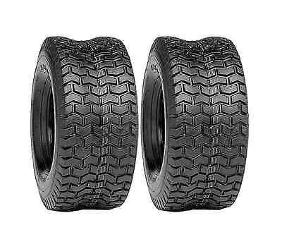 (2) New 20x8.00-10 TURF TIRES 2 Ply Tubeless Lawn Mower / Garden Tractor/ Rider