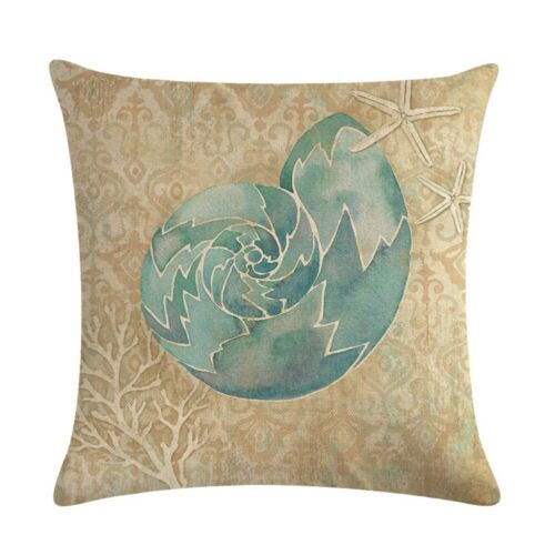 "18/"" Marble Texture Geometric Pillow Case Waist Throw Cushion Cover Home Decor"