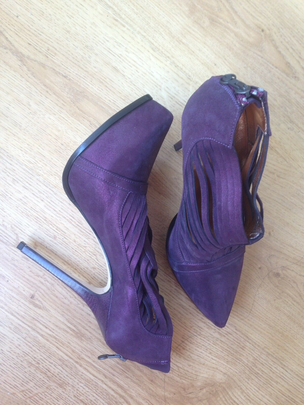 BRAND NEW GIL CARVALHO (LONDON) VERO CUOIO (MADE IN ITALY) SIZE 36  HEEL  4