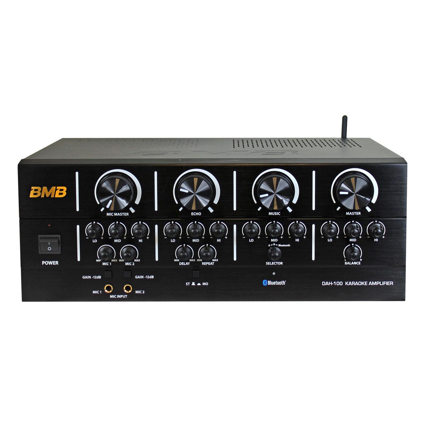 BMB DAH-100 Karaoke Mixing Amplifier with blueetooth