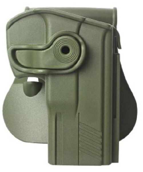 Z1360 IMI Defense Green Right Hand Holster for Taurus PT840 Compact & PT809 9mm