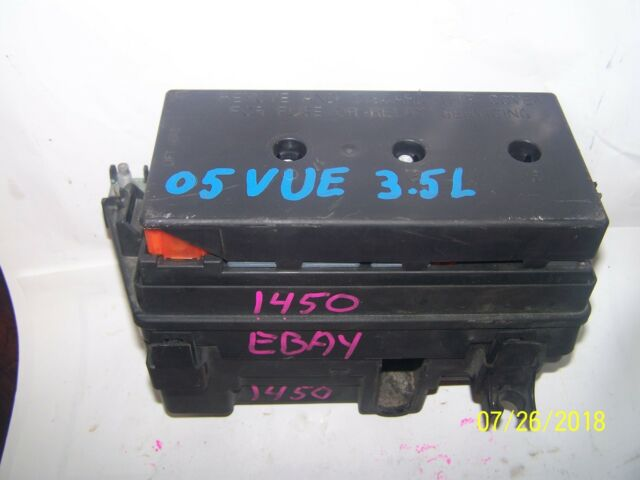Fuse Box  Panel Saturn Vue 2004 2005 22704222 3 5l Oem For Sale Online