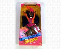 Baton Twirling Skipper African American Barbie Doll Mattel Still In Box