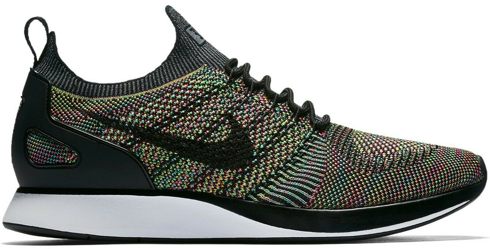 Mens Nike Air Zoom Mariah Flyknit Racer 918264-101 White Black Size 14 US 49 EUR