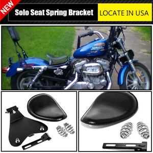 "Solo Seat 3/"" Spring Bracket Mounting Kit For Harley Honda Yamaha Kawasaki Suzuki"