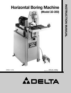 delta boring machine