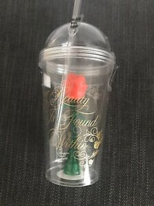 Disney Beauty And The Beast Tumbler Enchanted Rose Brand New Ebay
