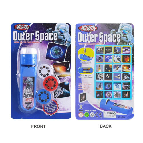 Xmas Outer Space Ocean Children/'s Projection Torch Kids Projector Toy Gift