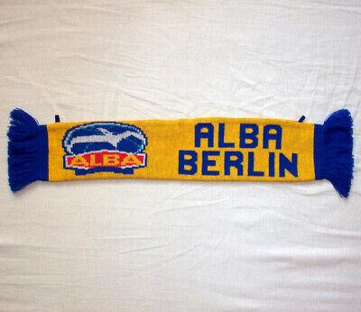 Alba Berlin Basketball Mini-fanschal - 45 X 8 Cm - Bbl Euroleague Basketball Wir Haben Lob Von Kunden Gewonnen